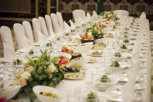 alimentos para menús de boda